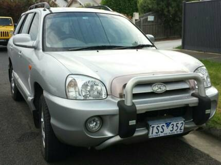 2004 Hyundai Santa Fe Wagon East Geelong Geelong City Preview