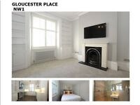 1 BED RECENTLY RENOVATED PARTMENT GLOUCESTER PLACE NW1