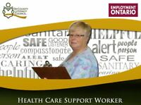 Health Care Support Worker Program