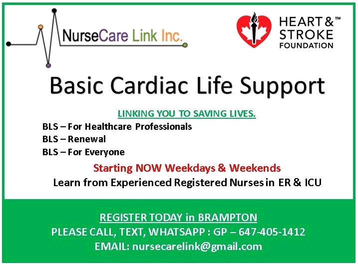 Get Cpr Bls Certificate In Brampton On 16sep Classes Lessons