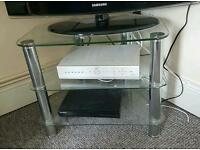 Telly stand and table