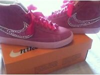 Ladies/girls Crystal Nike Blazers