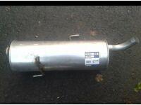 Exhaust back box Peugeot / citroen c1 c2 c3 206 106 306 307 207 not