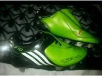 Adidas football boots size 1