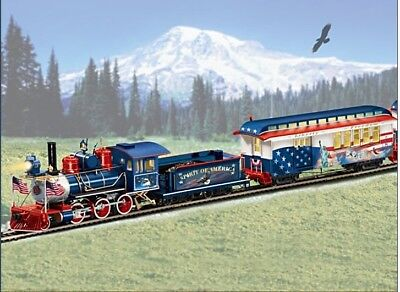 """Spirit of America Express"" Collectible Electric Train Set"
