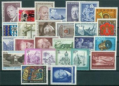 Österreich Jahrgang 1973 Michel Nr. 1410-1436 postfrisch