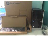 New HP Pavilion 500-403NA Core i3- 8GB RAM 1TB HDD