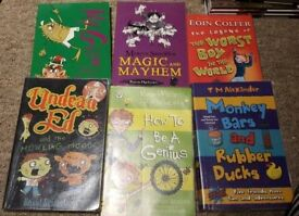 Bundle of chapter books Mr gum
