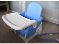 Lindam Travel and Fold-able Baby Chair / Booster Seat