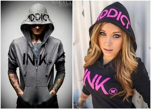 ALL Ink Addict Hoodies ONLY $30!!!