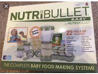 Nutribullet Baby Food Processor set