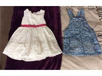 2x age 2-3 dresses