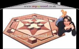 wooden parquet solid wood engineered cork hard wood laminate fitter , installer sanding services