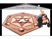 wooden parquet solid wood engineered cork hard wood laminate fitter , installer sanding services
