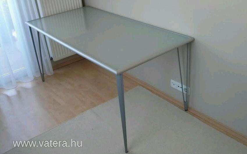 Ikea Vika Inge Frosted Glass Desk Table Mint Condition