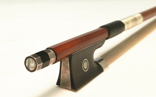 Best quality!4/4 size  Violin Bow #104 VB-15 Sartory Copy.Sterling Sliver