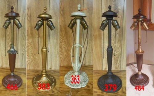 ANTIQUE PITTSBURGH LAMP BASE FOR REVERSE PAINTED LAMP