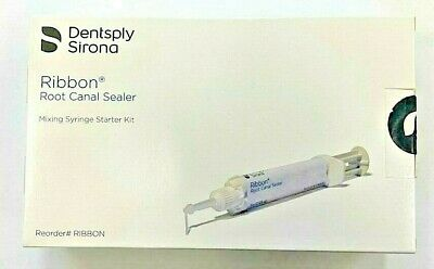 Ribbon Root Canal Sealer-starter Kit 15 Gm With Tips