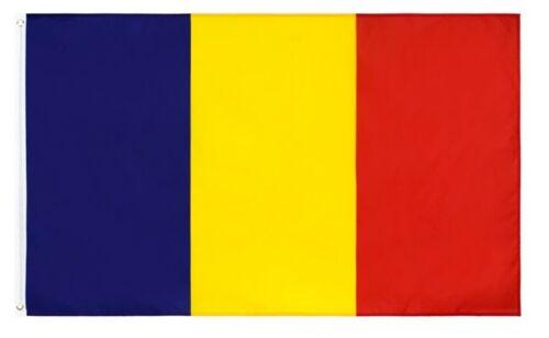 The flag of Romania, drapelul României 3 x 5 ft, Condition is BRAND NEW !