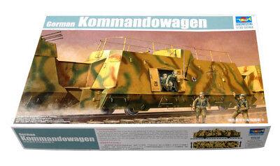 Trumpeter 9361510 Kommandowagen 1:35 Eisenbahn Zugwaggon Modellbausatz