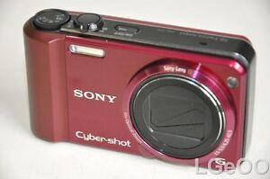 Sony-Cyber-Shot-DSC-H70-16-2-Megapixel-Digital-Camera-10x-Optical-Zoom-Red