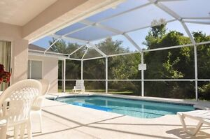 Gorgeous hidden gem with VERY private pool near Disney World!