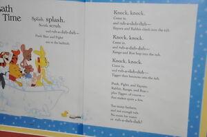 "Framed Winnie the Pooh poem ""Bath Time"" Kitchener / Waterloo Kitchener Area image 3"