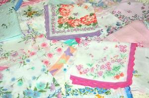 NEW 10 LOT CUTTER LADIES VINTAGE COTTON HANKY FLORAL HANDKERCHIEF HOT