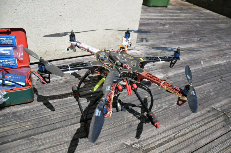 Hexacopter drone f550 GPS with spares spektrum dx8 control 3 batteries | in  Plymouth, Devon | Gumtree