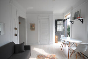 Fully furnished + Renovated - 3 bdrm apt - great Plateau locatio