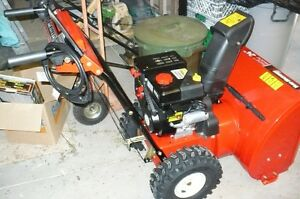 YARDWORKS  NEW  SNOW BLOWER