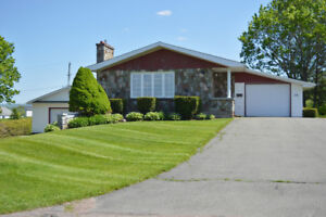 Memramcook - REDUCED!!! Double Detached Garage!!! A Must See!!!