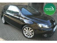 ONLY £182.72 PER MONTH BLACK 2012 VW GOLF 2.0 TDI GT 5 DOOR DIESEL MANUAL