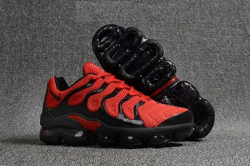 6ce0e4828d5be Brand New Nike Air Vapormax TN Plus RED and Black Size UK9 EU44 28cm 2019