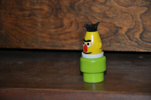 SESAME STREET BERT #938 LITTLE PEOPLE VINTAGE FISHER PRICE JOUET