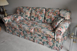 Couch and Chair--Must be sold-try your offer by noon tomorrow