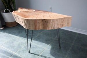 30% off: Live Edge Maple Coffee Table or side table