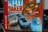 AFX AW HO  Electric Slot Car Set New Petty vs Baker