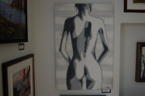Original Nude Oil Painting 24X36