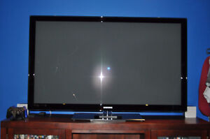 "Used/Broken for parts Samsung 58"" Plasma  N58C540G3F"