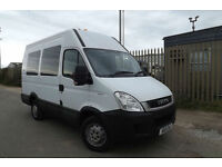 2011 Iveco DAILY 35S13 SWB 2.3 DIESEL AUTOMATIC 9 SEATER MINIBUS CAMPER MESS DAY