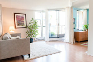 2 Bedroom WestEnd Apartment at Sunset Beach, Vancouver