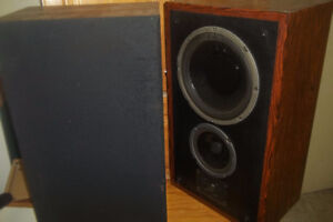 Vintage speakers and Electronics.