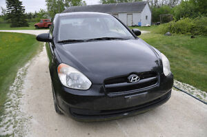 2008 Hyundai Accent for sale for parts/salvage