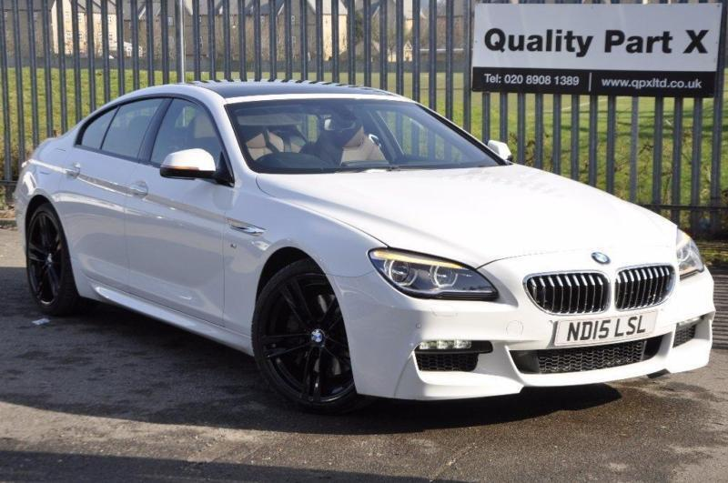 2015 BMW 6 Series Gran Coupe 30 640i M Sport Gran Coupe