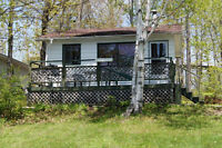 2 and 3 Bedroom Lakefront Cabins for $600/week. WINTER SPECIALS!