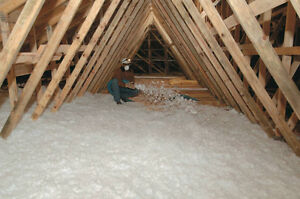 Fall Special on Attic insulation blow in save $$$