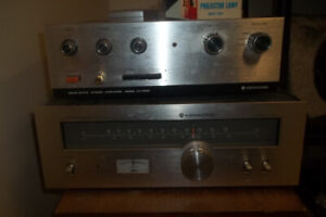 Vintage receivers, Tuners, speakers and parts..