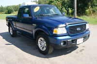 2009 Ford Ranger Ext cab 4x4 Pickup Truck
