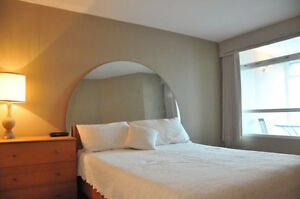 FULLY FURNISHED ALL INCL 1 Brd+Den in the HEART OF DT- NOV 1st